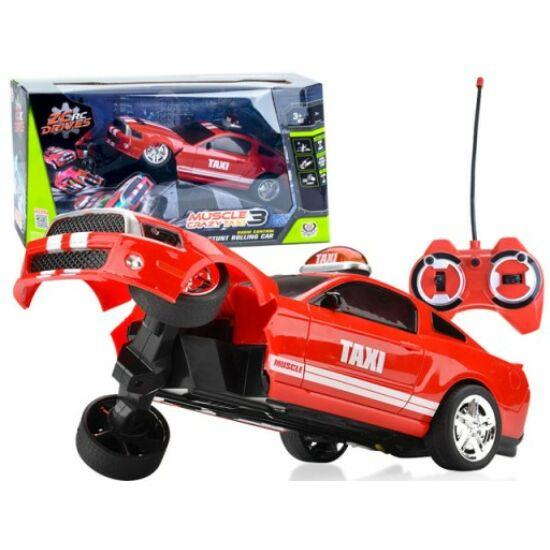 Őrült Taxi Kaszkadőr RC Autó