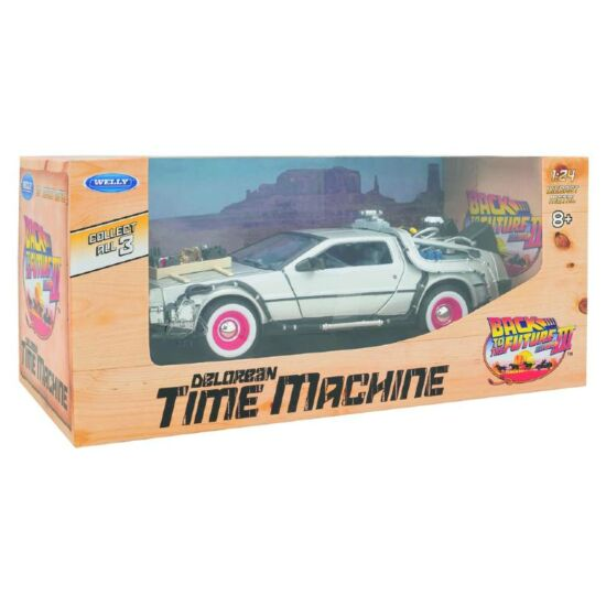 Delorean Time Machine - Vissza A Jövőbe III. Autó