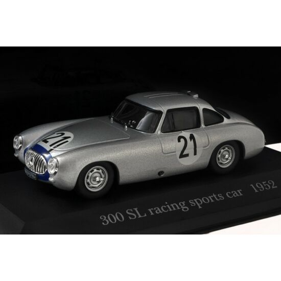 Mercedes-Benz 300 SL racing sports car 1952 1:43 modell autó