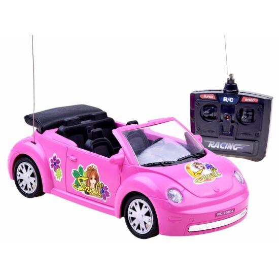 Rózsaszín RC-s Autó