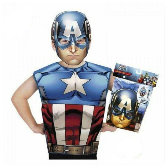 Amerika Kapitány Póló és Maszk