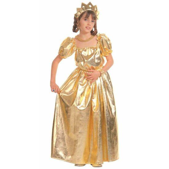 Arany Hercegnő Jelmez 128 cm