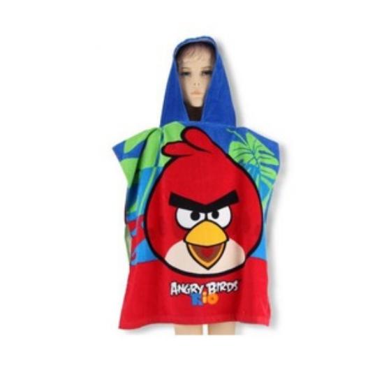 Angry Birds Színes Poncsó
