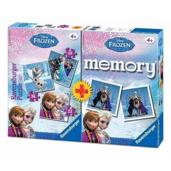 Frozen Jégvarázs 3 Puzzle + Memória