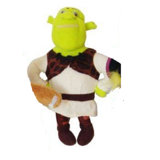 Shrek Plüss Figura 27 cm
