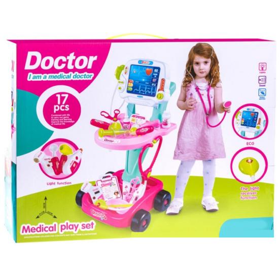 Orvosi Kocsi Készlet: Lányos