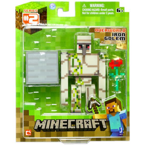 Minecraft: Iron Golem figura kiegészítőkkel