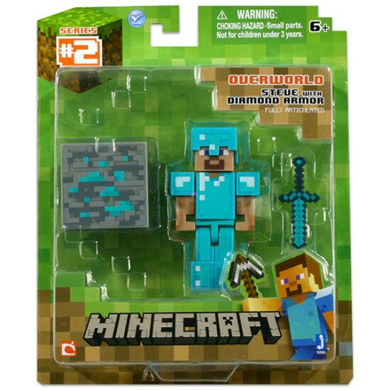 Minecraft: Steve figura gyémánt páncéllal