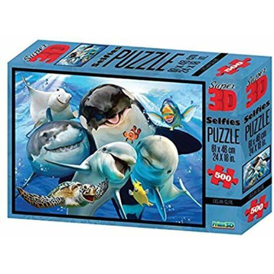 Howard Robinson Super 3D Puzzle: Óceán Élővilág