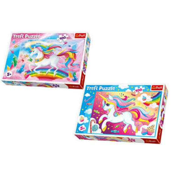 Unikornis Puzzle 100 db-os Kétféle