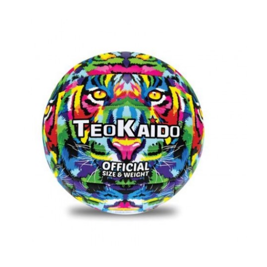 TeoKaido Neon Színű Műbőr Röplabda