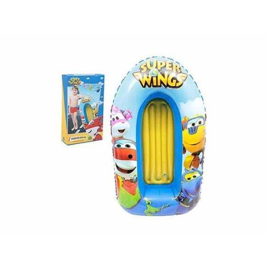 Super Wings Felfújható Csónak