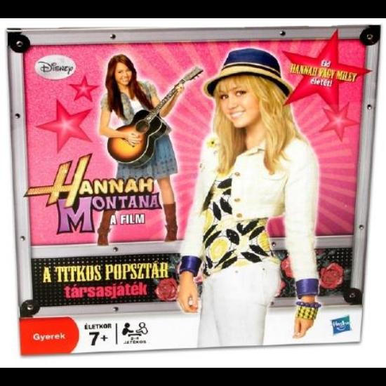 Hannah Montana Társasjáték: A Titkos Popsztár