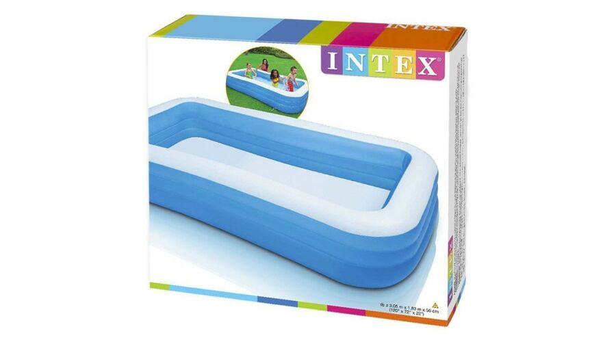 Intex Kék családi medence 305 x 183 cm - Strandcikkek d4fc71a14e