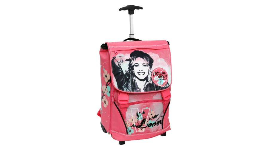 61838a088c8f Disney Violetta Gurulós Iskolatáska Ajándék Fülmelegítős Fülhallgató ...